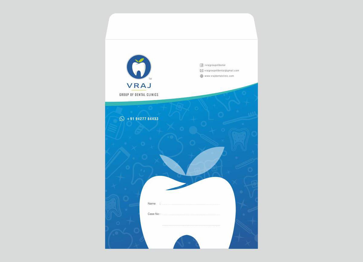 envelope design for dental clinic