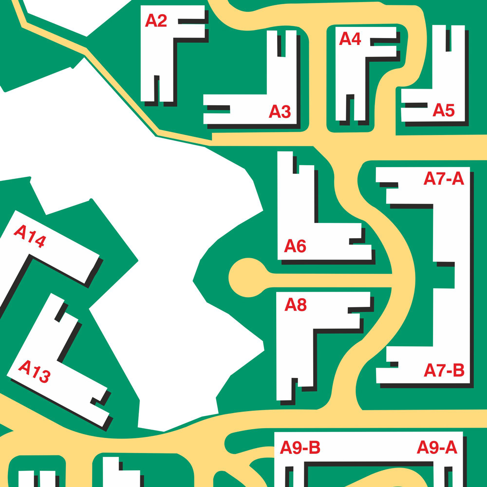 Map Signage for Residential Complex
