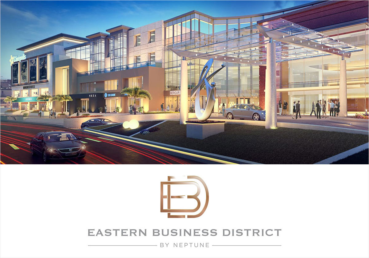 signage design for mall and commercial center