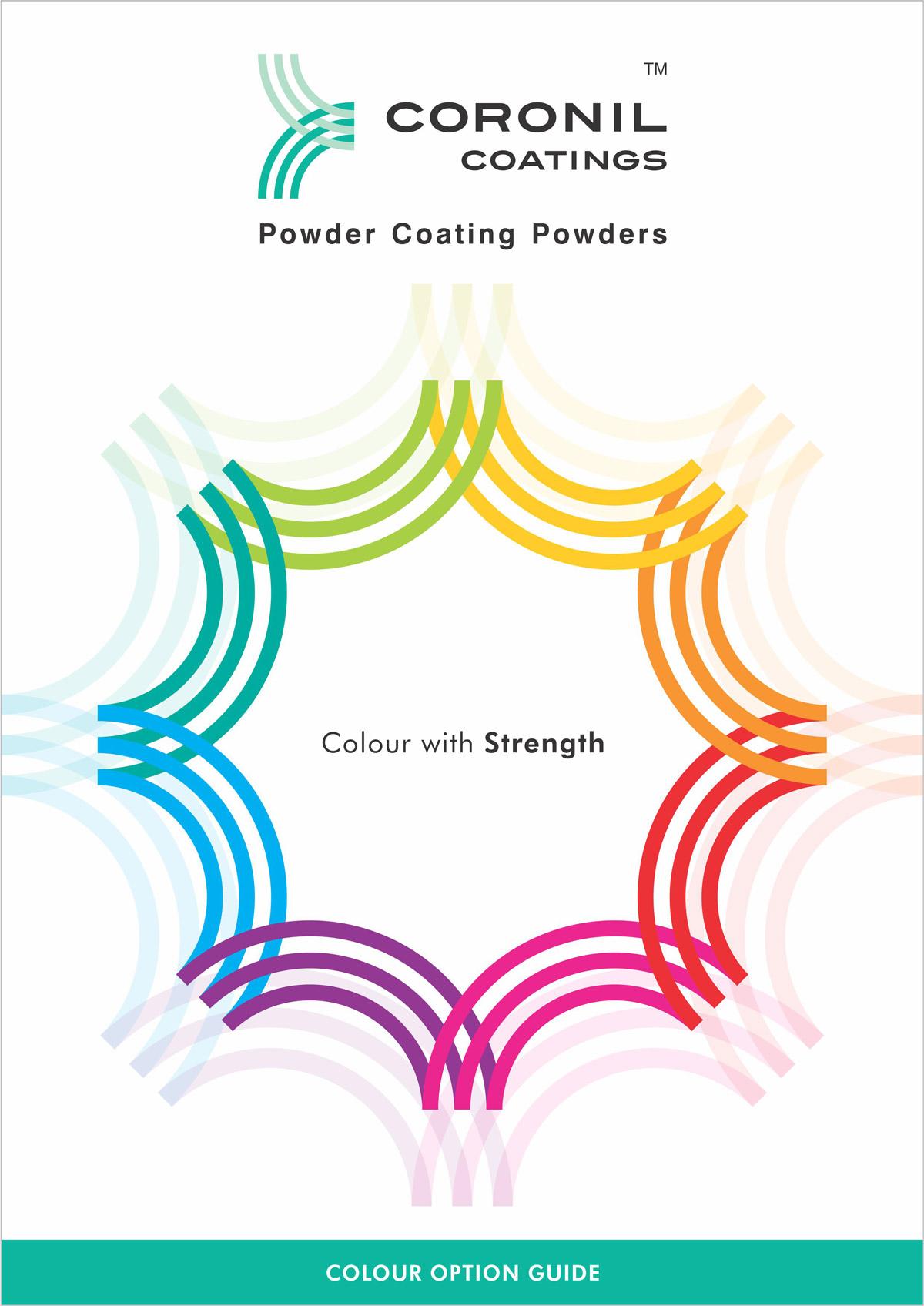 Shade card design for Powder Coating Powders
