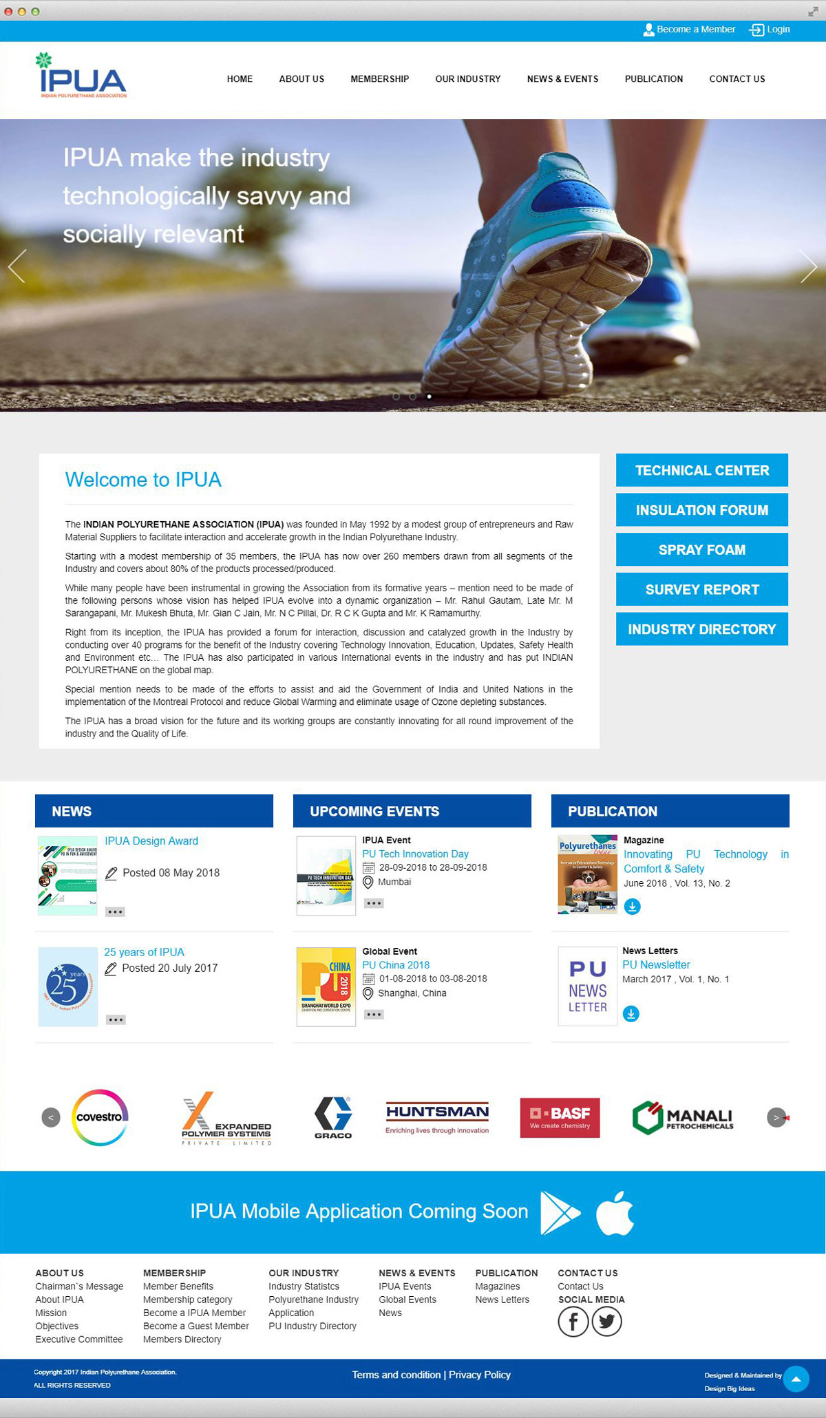Website Design for IPUA