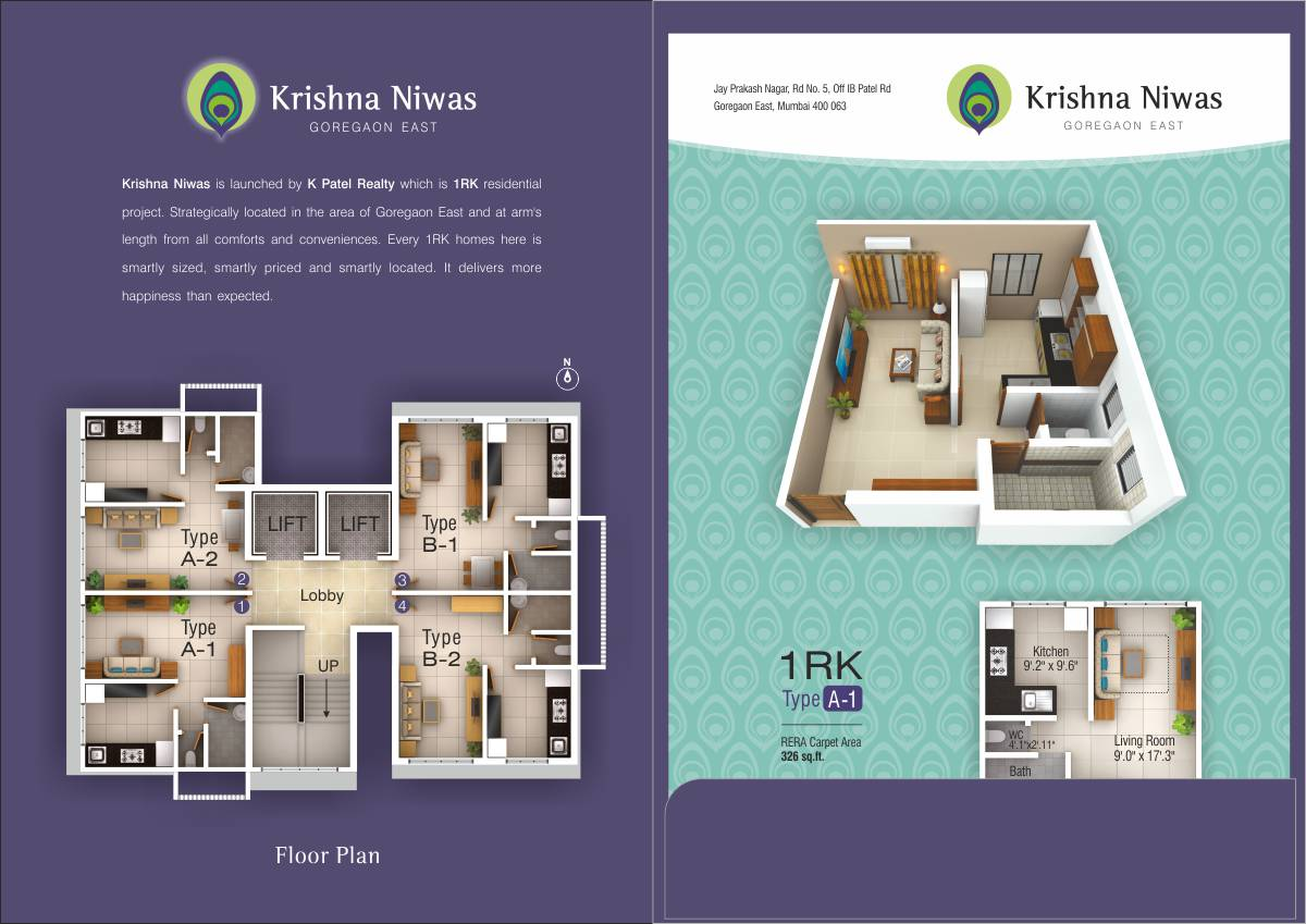 Brochure Design for Residential Project
