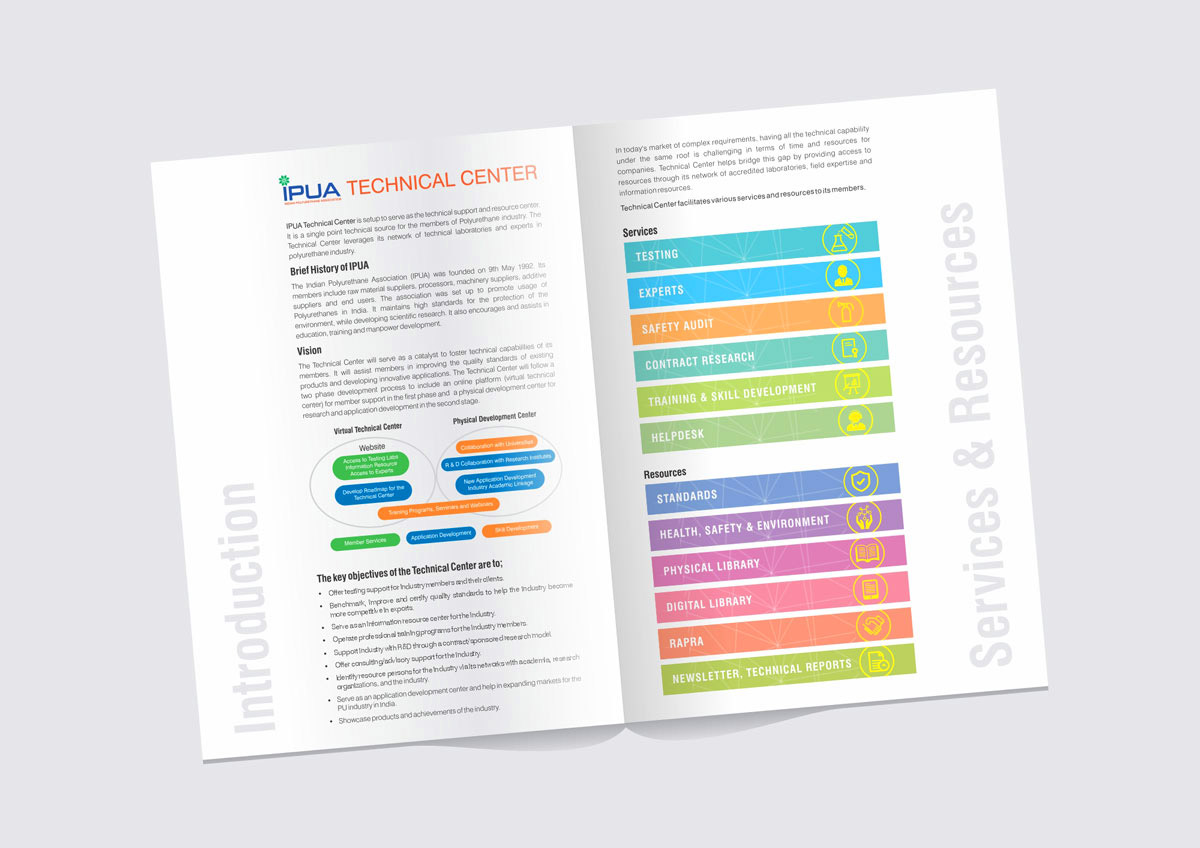 Brochure Design for Launch of Event