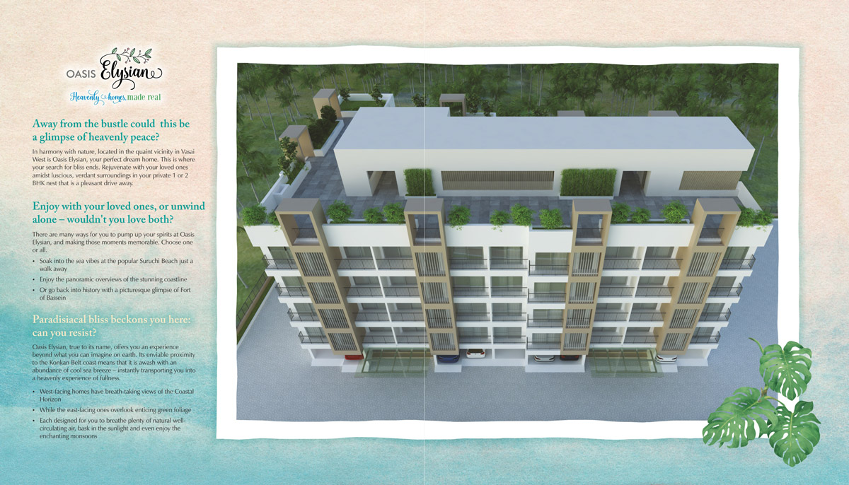 brochure design for residential complex