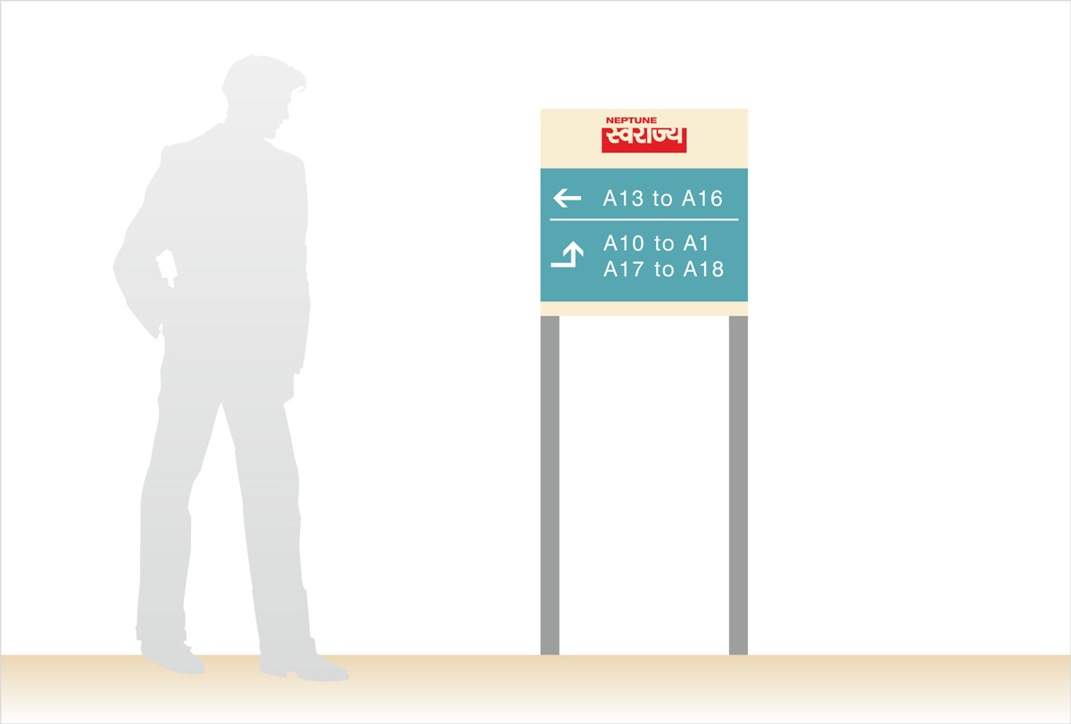 Directional Signage for Residential Complex