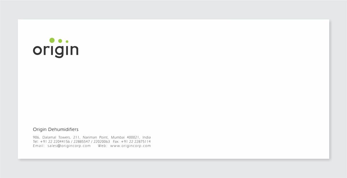 envelope design for dehumidifier company
