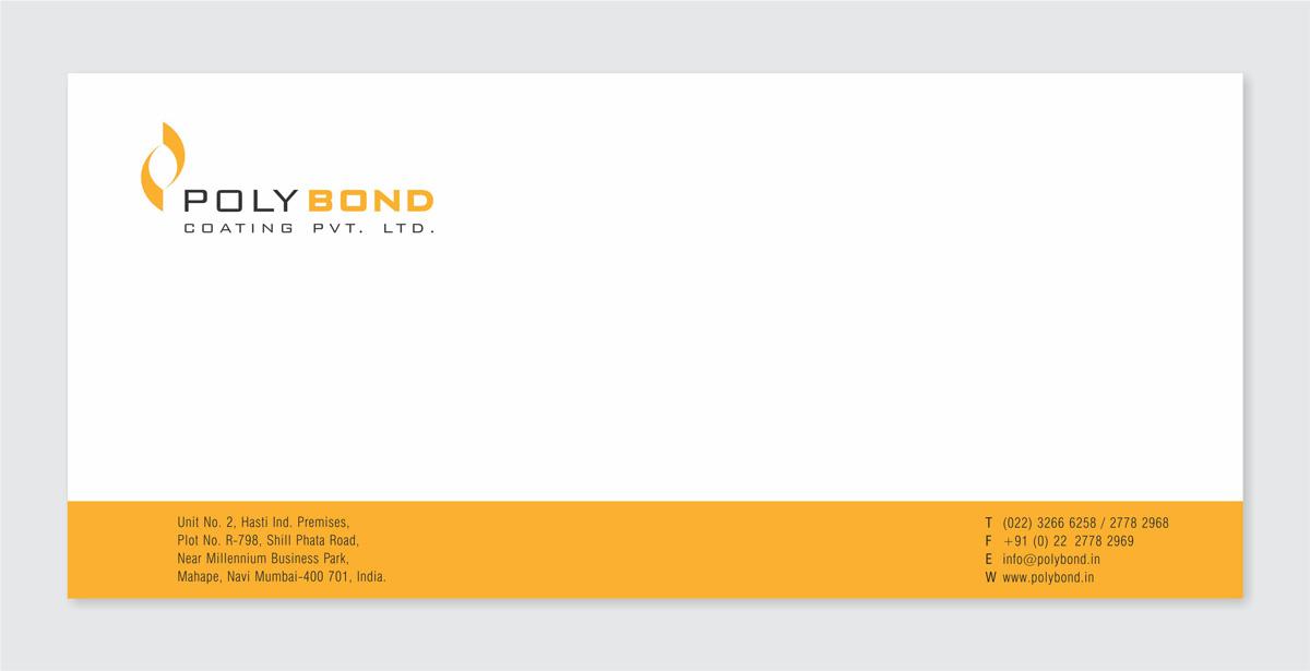 envelope design for mfr. of powder coating powders