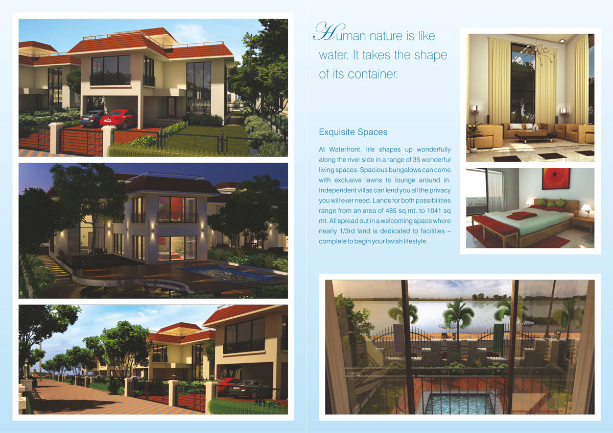 Brochure Design for Row House Project