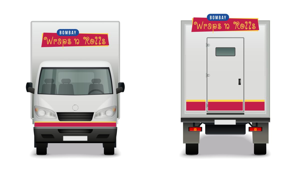Brand Identity and Branding for Food Truck / Stall