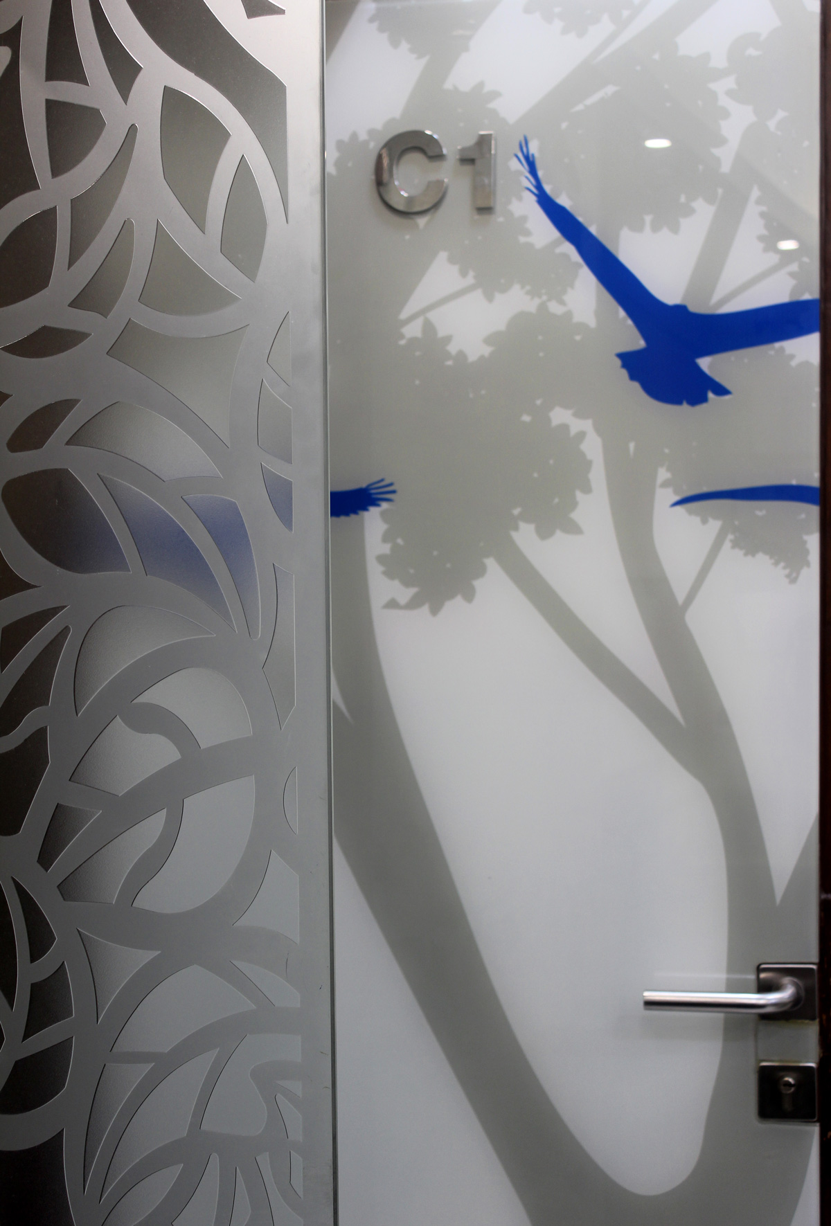 Graphics on Door