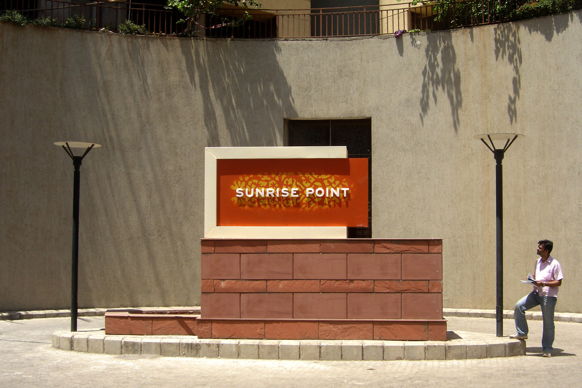 building name signage design