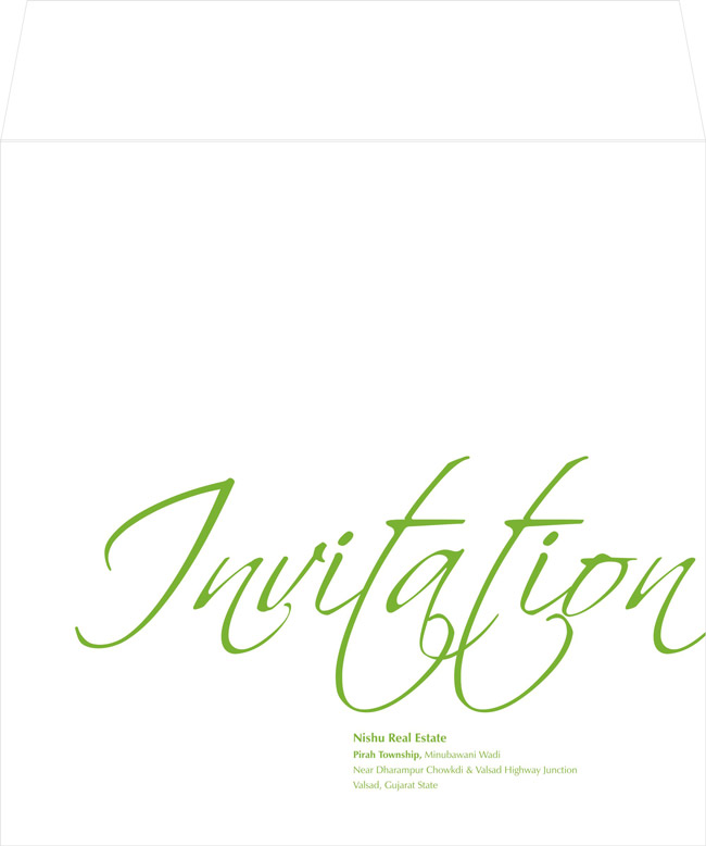Invitation Design for Bungalows Project