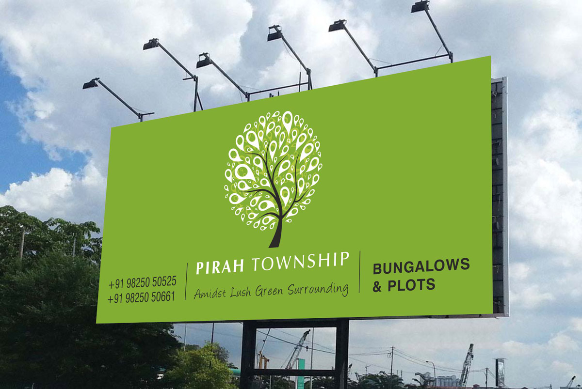 Hoarding Design for Bungalows Project