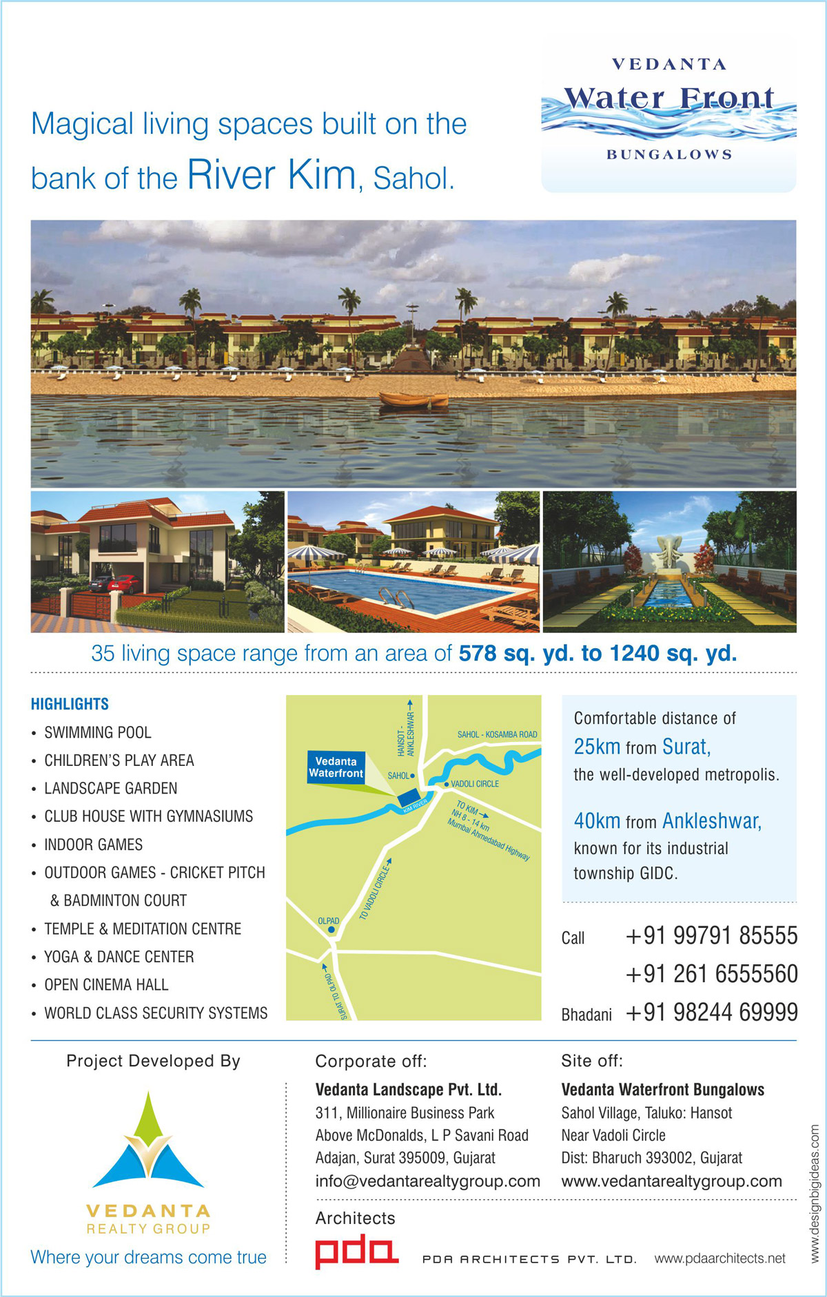 Advertisement Design for Row House Project