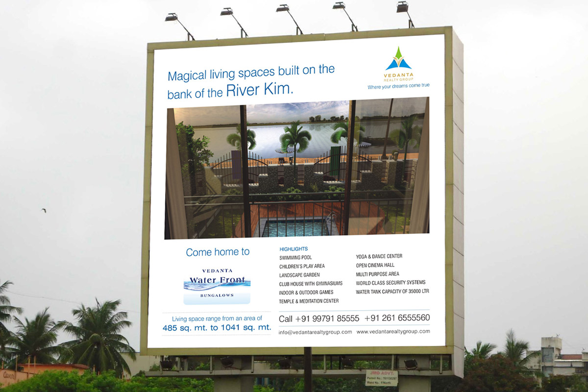 Hoarding Design for Row House Project