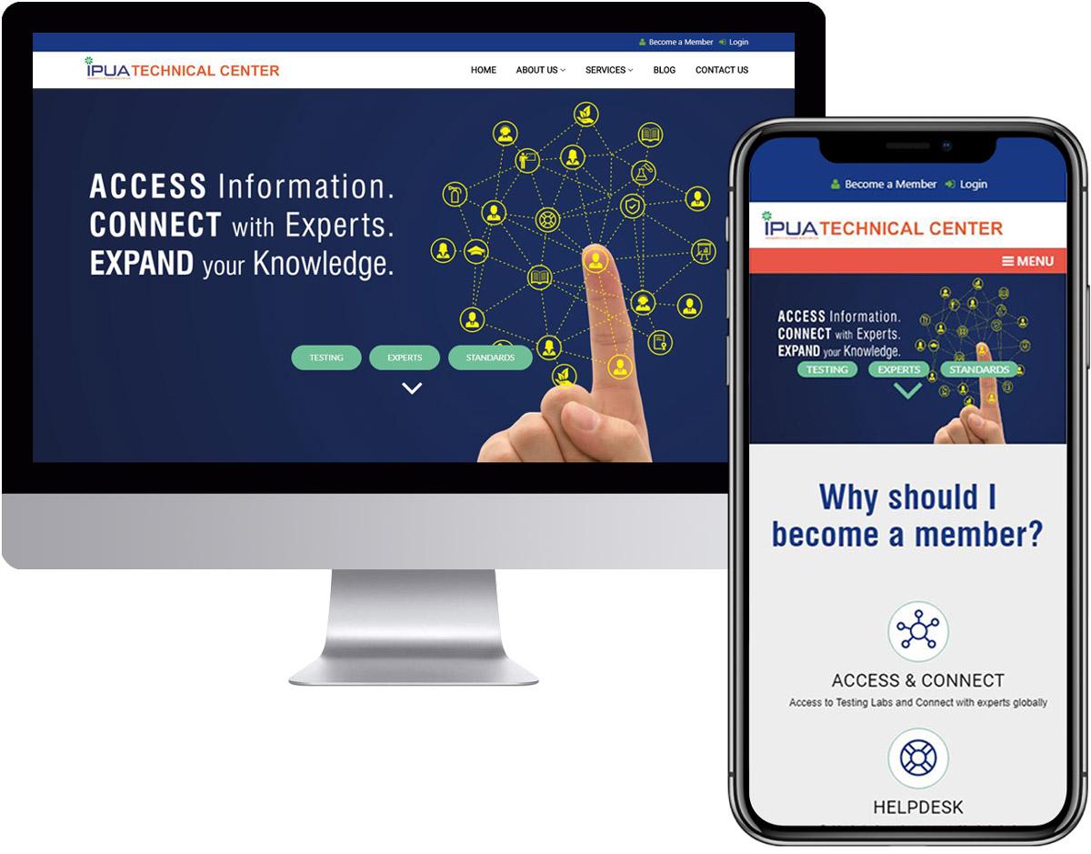 Website Design for IPUA TC
