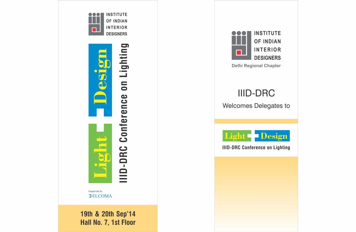 banner design, poster design for lighting event