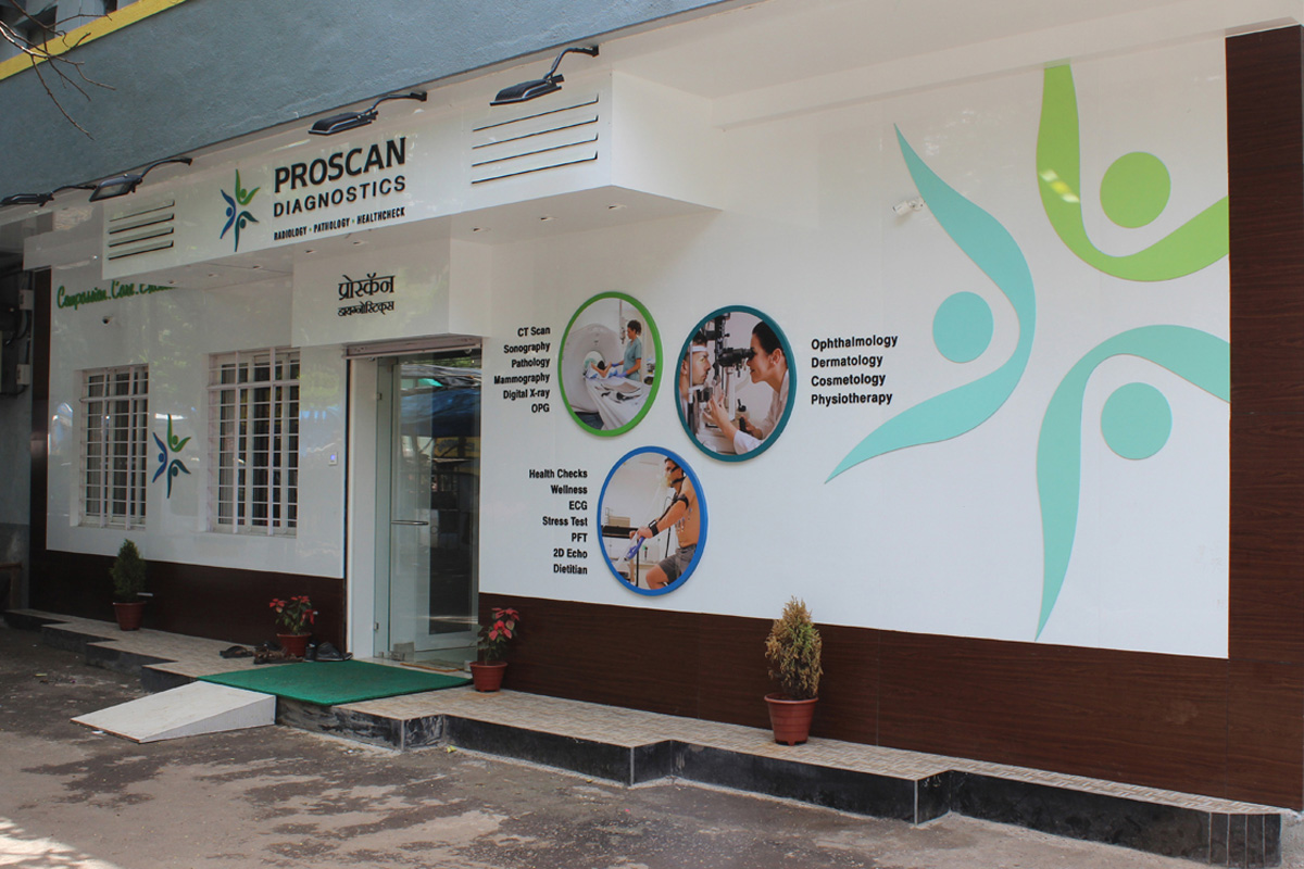 Signage Design for Diagnostic Centre