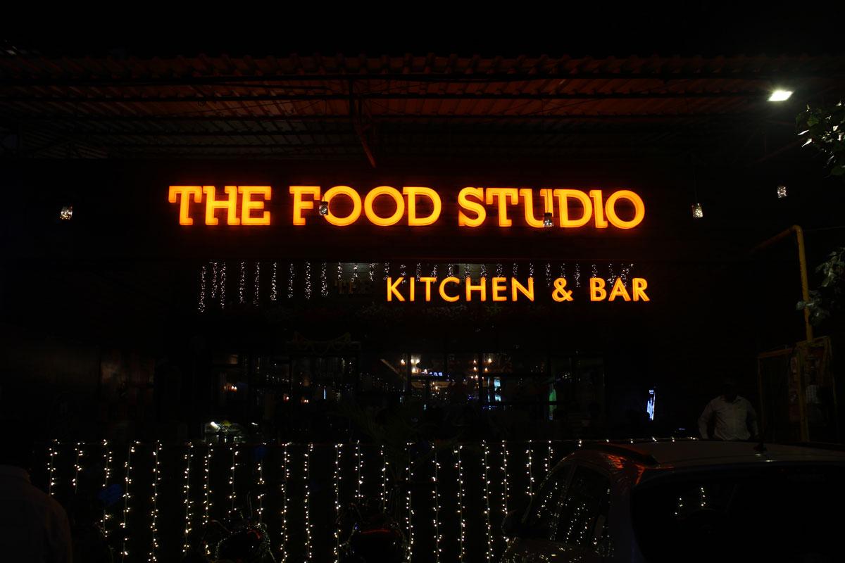 Restaurant Logo Signage