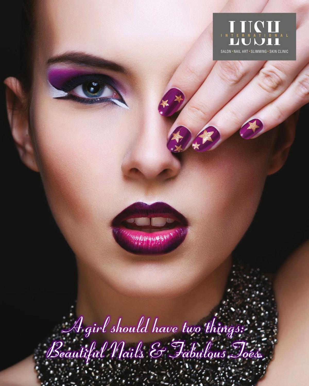 poster design for skin salon