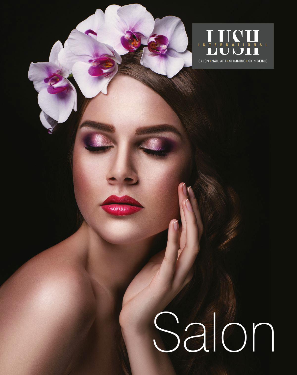 poster design for salon