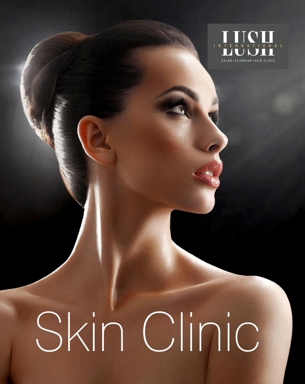 poster design for skin care, salon