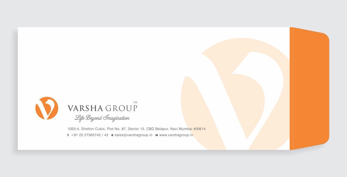 Envelope Design for Varsha Group